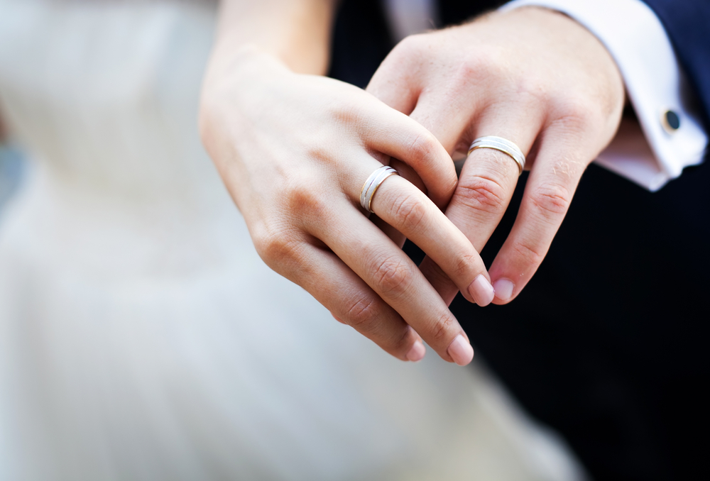 Couples-hands